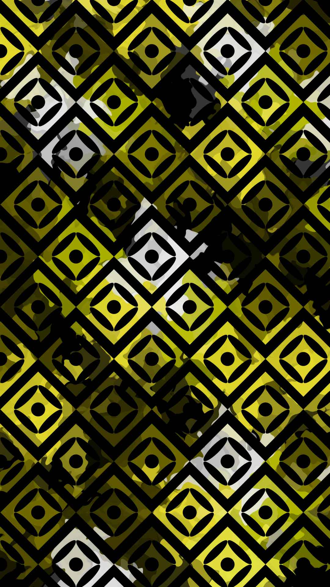 black and yellow wallpaper for phone