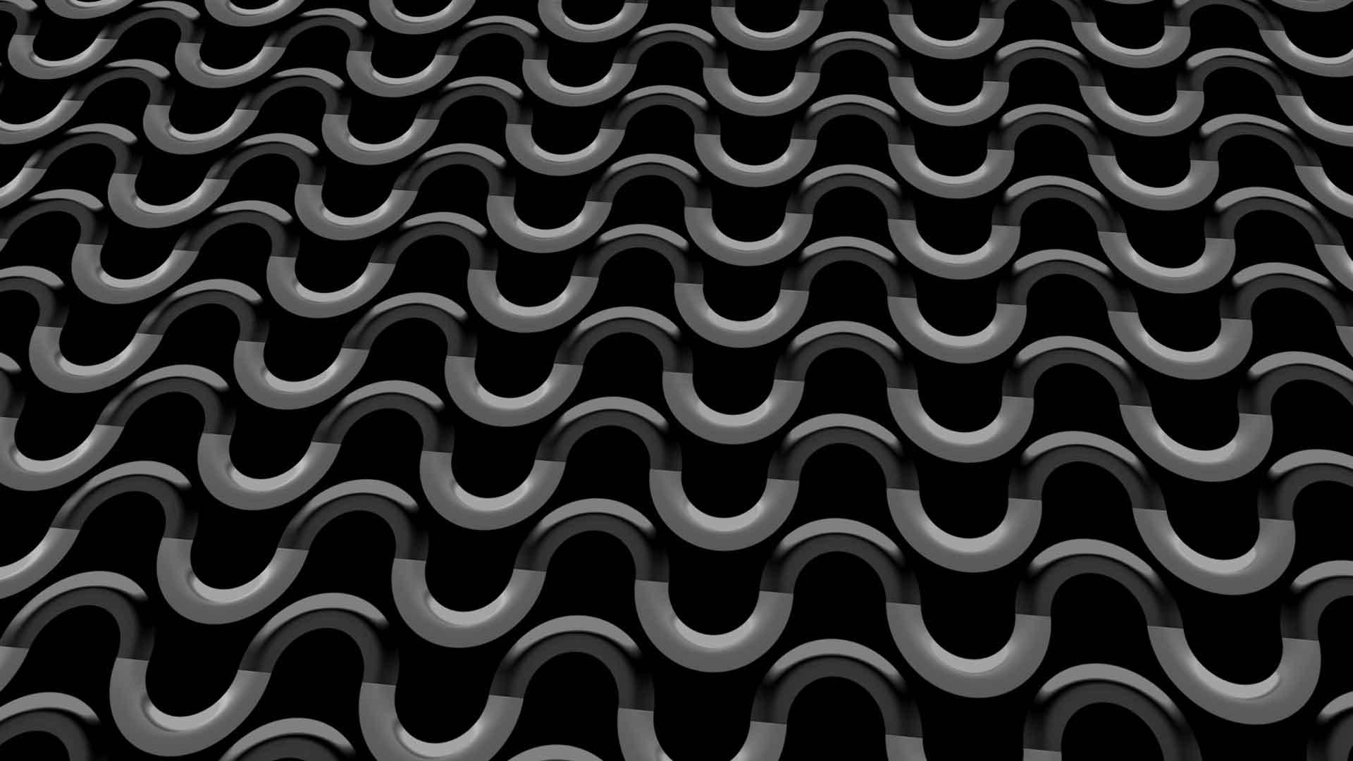 black geometric wallpaper